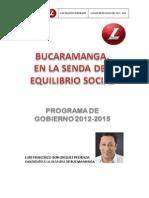 Bucaramanga Santander Pg 2015