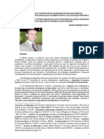 Artigo - A Criminalidade - Dignidade Humana e Direito Penal