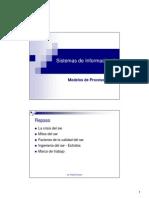 SI II-Clase 3 - Modelos de Procesos