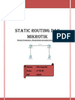 Lap Static Routing Mikro