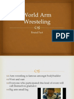 World Arm Wresteling Brutal Fact