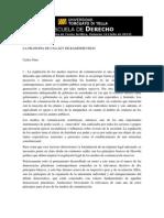 La Filosofia de Una Ley de Radiodifusion (Nino)