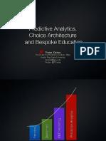 Using Predictive Analytics to Improve Student Success (166286107)