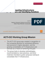 Optimizing Computing Infrastructure