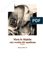 María de Majdala la otra versión del anathema
