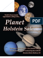 Sale Catalog - Planet Holstein Sale