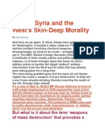 War on Syria and the West.1