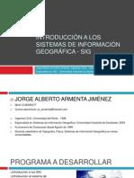 0 PROGRAMA DEL CURSO INTRODUCCIÓN A LOS SISTEMAS DE INFORMACIÓN GEOGRÁFICA