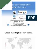 Telecommunications Pablo PrietoMunoz