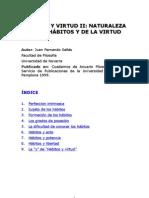 Juan Fernando Sellés - Habitos y virtud- II