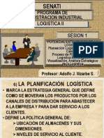 Logistica II Senati Sesion i - Potencial Estrategico de La Logistica