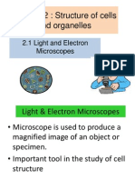 2.1 Light & Electron Microscopes