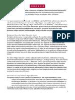 EDUCAUSE Response to NIST RFI