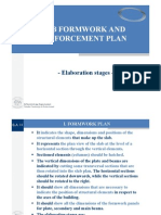 Slab Formwork and Reinforcement Plan