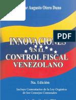 Innovaciones en el Control Fiscal Venezolano 5ta Edición
