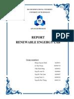Lab Report Renewables