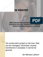 Risk Analysis- 22.01.2012