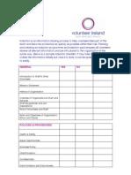 Induction Checklist