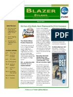 March 2013 Student-Athlete Newsletter