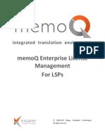 MemoQLicenseManagement LSPGuide 60 en-1-1
