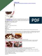 Briose de Ciocolata Cu Centrul Lichid