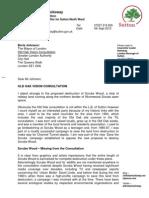 Old Oak TfL Consultation Letter