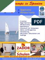 Segelcamp und Windsurf Camp fur Jugendliche