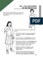 17. Las Lecciones de Matematicas