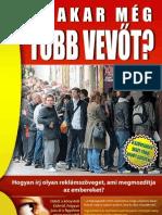 Odrovics János - Ki Akar Meg Tobb Vevot?
