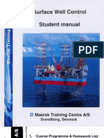 IWCF Surface BOP Well Control - Student Manual