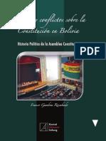 Dilemas y conflictos sobre la Constitución en Bolivia.Gamboa rocabado