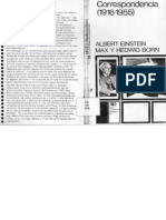Correspondencia 1916 1955 Einstein Max Born