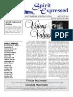 Sept/Oct 2013 Spirit Expressed Magazine
