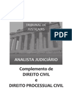ANALISTA TJ RS - Questões de Dir. Civil