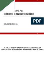 FAVIP - Direito das Sucessões - Slide 4