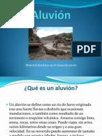 Aluvion (Trabajo de Geologia)