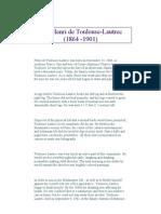 Henri de Toulouse-Lautrec Biography