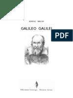 Brecht Bertolt - Galileo Galilei