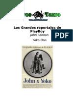 Lennon, John & Ono, Yoko - Los Grandes Reportajes de Playboy (Entrevistas)