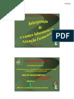 2 Crf Itinerante 2011 Interpretacao Exames Elenice