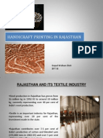 handicraft printing in rajasthan