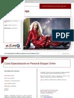 ESME Online Personal Shopper