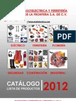 Catalogo Julio 2012