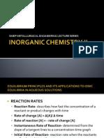 MetE Board Review Inorganic Chemistry II