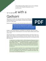 Debate with a Qadiyani