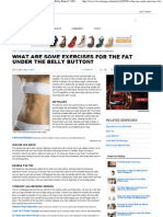 Exercises for the Fat Under the Belly Button