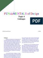 Fundamentals of Design - Linkages