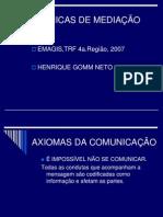 Apg Tecnicas de Mediacao Henrique Gomm Neto