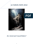 Do Roman Catholics KnOw About the Astral and Causal Bodies?