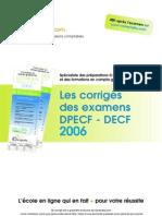 Sujet Corrige Decf Uv6 2006